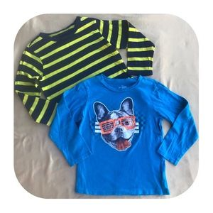 2 Children's Place long sleeve shirts 5T